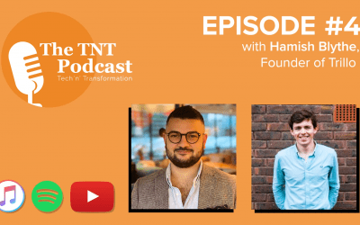 Tech 'n' Transformation Podcast – Season 1/Episode 4 with Hamish Blythe